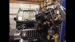1998 Jeep Wrangler 2 5l 4 Cylinder Engine Removal Guide