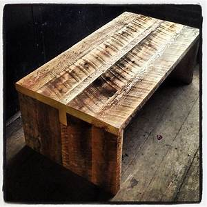 kerf reclaimed barn board coffee table rustic With barn board coffee table