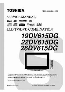 Schematic Diagram Manual Toshiba 2805dnt Tv