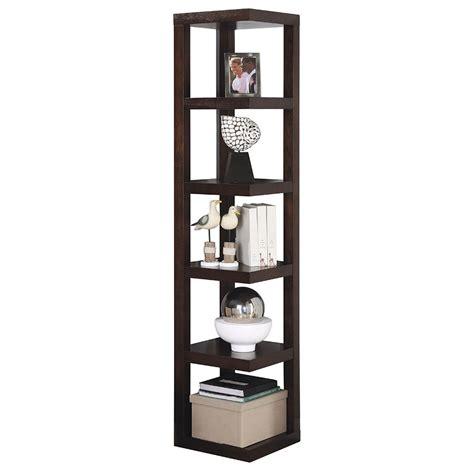 Contemporary Corner Bookcase by Modern Shelving Jarden Corner Bookshelf Eurway