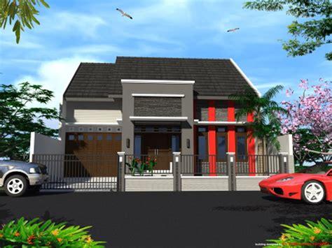 model rumah minimalis  lantai  informasi menarik