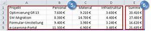 Gesamtkosten Berechnen : powerpoint und excel so gelingt es summenwerte ber gestapelten s ulen projekt magazin ~ Themetempest.com Abrechnung