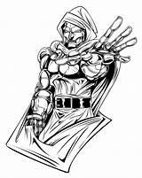 Doom Dr Coloring Doctor Pages Drawings Casket Deviantart Marvel Printable Clipart Pro Comics Adults Fan Cartoons sketch template