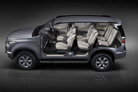 chevrolet trailblazer new chevrolet trailblazer suv goes on sale in thailand