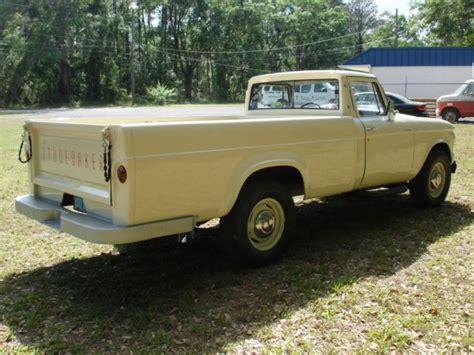 1962 STUDEBAKER CHAMP PICKUP TRUCK V8