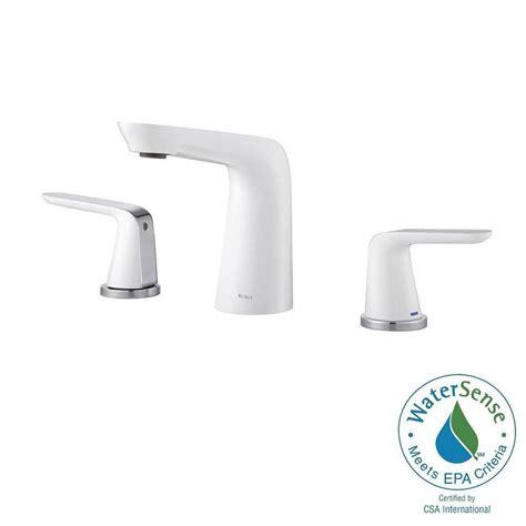 delta mandara 8 in widespread 2 handle bathroom faucet