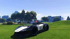 Lamborghini Police [Zentorno] LSPD - Vehicules pour GTA V