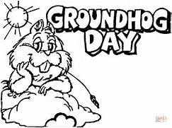 groundhog day coloring page picture super coloring polyvore dog