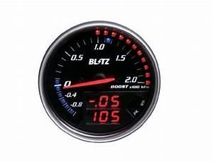Blitz Fld Meter Boost For Nissan Serena C25 Nc25 Mr20de