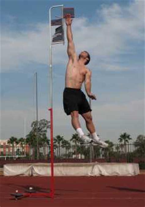 measure vertical jump  exercisers