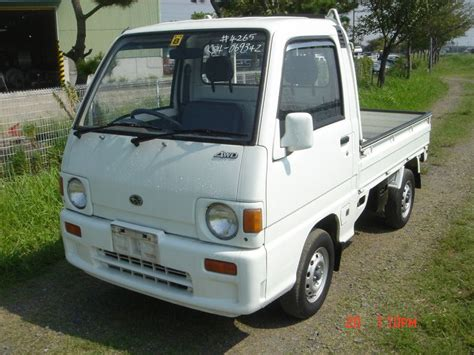 subaru sambar truck subaru sambar truck 4wd 1991 used for sale