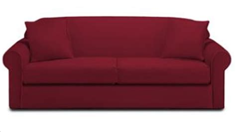 red sleeper sofa queen klaussner possibilities dreamquest queen sleeper sofa