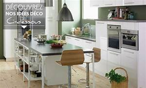 Idee Deco Photo : style id e d co cuisine gris et blanc ~ Preciouscoupons.com Idées de Décoration