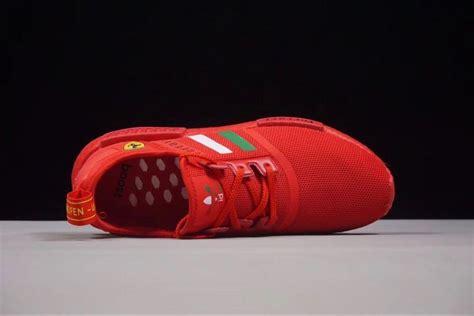 Inspirado nas silhuetas icônicas de running dos arquivos da adidas, o nmd é um modelo progressivo que mistura passado e futuro de forma casual. Ferrari X Adidas NMD R1 Boost Custom Running Shoes Triple ...