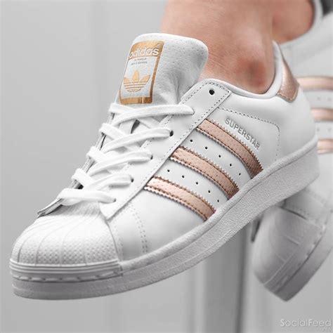 Adidas Rose Gold Superstar hollybushwitneycouk