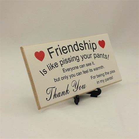 friend gift funny sign birthday present