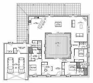maison maison pro ecotm patio lafarge 180 m2 faire With plan de maison 120m2 3 vaste villa detail du plan de vaste villa faire