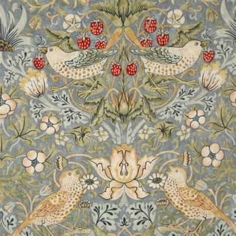 william morris strawberry thief slate oilcloth tablecloth