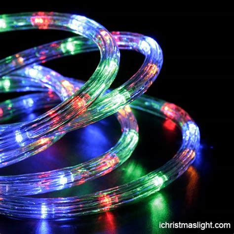 wholesale led programmable rgb rope lights ichristmaslight