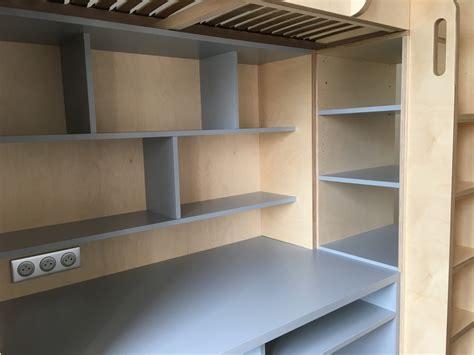 lit mezzanine avec bureau pour ado ensemble lit mezzanine bureau refuge pour ado