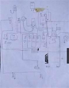 Rough Sketch Of Wiring Diagram For Vintage Racing Spridget