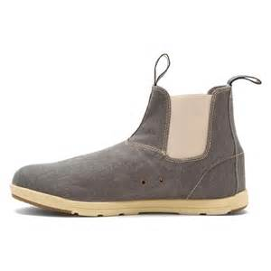 womens grey boots canada blundstone s 1423 canvas boot boots in grey canvas faballfab
