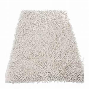tapis de salle de bain 50x80cm blanc With tapis galet salle de bain