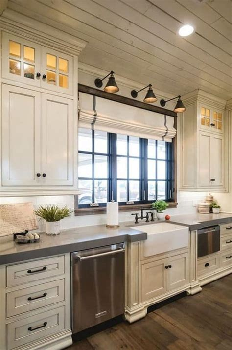 antique white kitchen cabinets ideas   liquid image