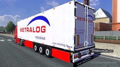 volvo trailer for wetralog skin trailer for volvo 2009 ets 2 mods