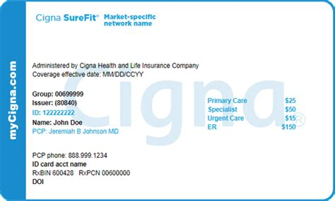 Each health insurance plan purchased in the health care marketplace has a unique 14 character identifier that can be a combination of numbers and letters that is known as the plan id. My Cigna Prescription Card   Webcas.org