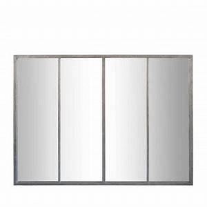 Miroir Effet Verrière : miroir double suspendu m tal m chain drawer ~ Teatrodelosmanantiales.com Idées de Décoration
