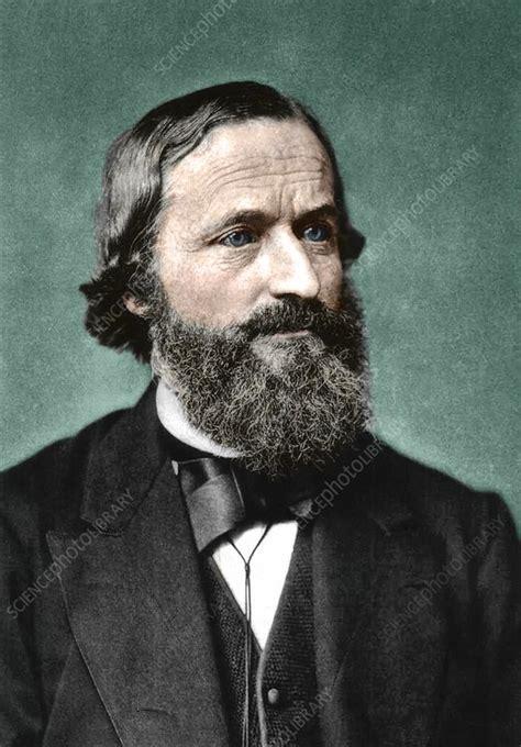 Gustav Kirchhoff, German physicist - Stock Image - C038 ...