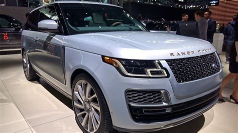 2019 Range Rover Sv Coupe  In Details  2018 Nyias Youtube