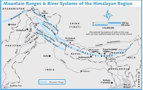 map of himalayan ranges blissful enchanting and magical himalayas blissful wanderings
