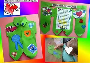 Bricolage Fête Des Pères Maternelle : fete des peres ~ Melissatoandfro.com Idées de Décoration