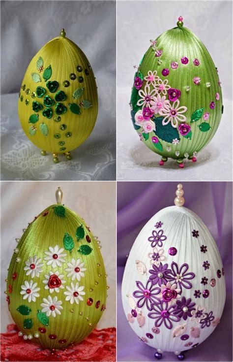 easter egg decorations craft crafts using styrofoam eggs