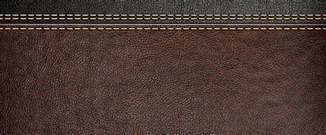 leather background leather sewing brown background