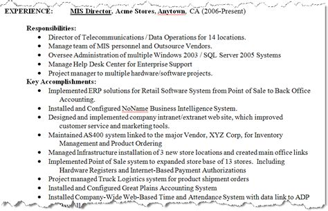 results of our resume make techrepublic