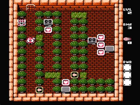 Adventures Of Lolo 3 Screenshots For Nes