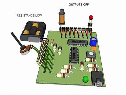 Potentiometer Resistor Variable Input Analogue Using Sensor