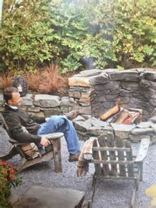 Outdoor Fire Pit in the Grass
