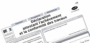 Declaration Achevement Travaux : d claration d 39 ach vement de travaux daact anais expertises ~ Melissatoandfro.com Idées de Décoration