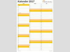 KALENDER 2017 ZUM AUSDRUCKEN KOSTENLOS