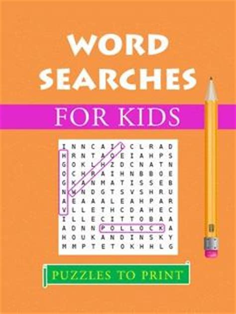 word searches  kids printable  puzzles  print