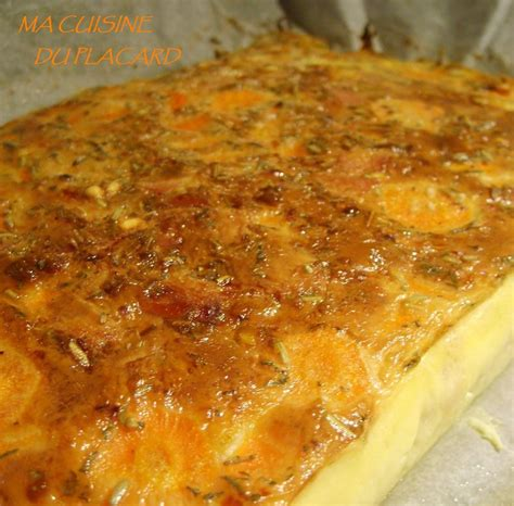 aftouch cuisine flan de carottes jambon ma cuisine du placard