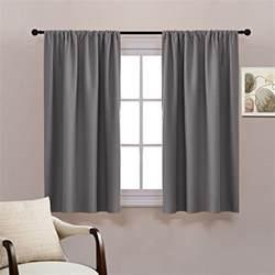 grey rod pocket blackout curtains pony dance thermal