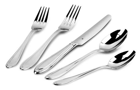 wmf florence stainless steel flatware set  piece cutlery