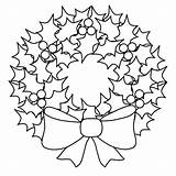 Wreath Coloring Christmas Pages Wreaths Draw Drawing Colouring Easy Printable Button Using Sun Getdrawings Grab Well sketch template