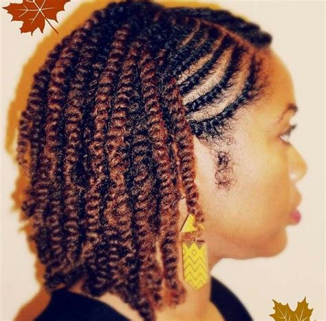 natural twostrand twist side view in 2019 natural hair
