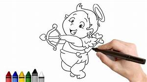 How to Draw Cupid ★ Drawing for kids Tutorial - Art ...